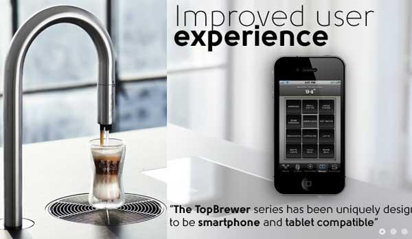 """""""เครื่องทำกาแฟ"""" แบรนด์หรูได้อีกด้วย iPhone – iPad"""