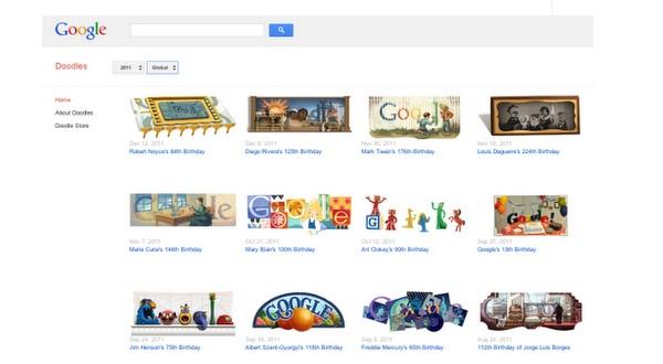 ต่อยอดชั้นเซียน! Google เปิดเว็บขายสินค้าพิมพ์ลาย doodle