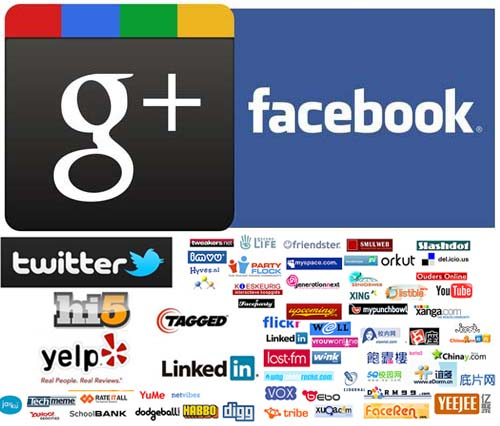 2012 ระเบิดศึก social networks ทุกระดับ