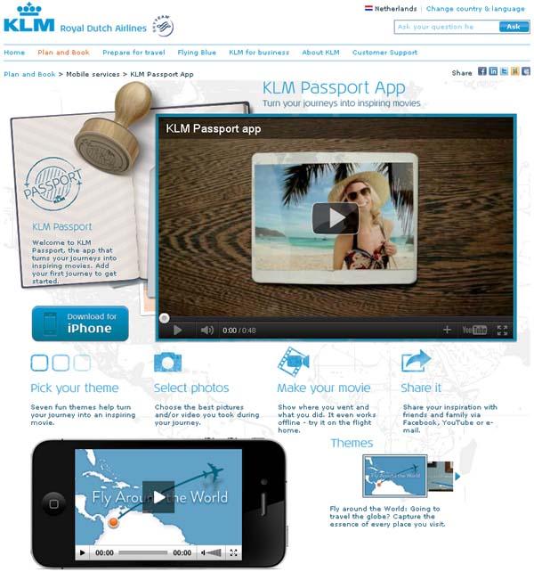 แจกแอพทำสไลด์ – สร้างแบรนด์ได้แบบ KLM