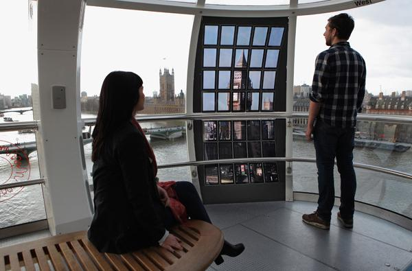 ยกระดับ London Eye ด้วย Galaxy Tab