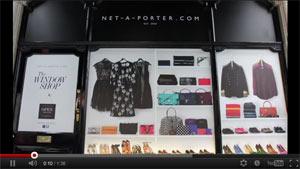 Net-a-Porter สร้างกระแส The Window Shop ผ่าน Augmented Reality
