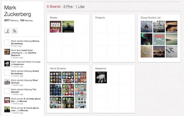 Pinterest มีดีอะไร? ทำไม Mark Zuckerberg ต้องเล่น?