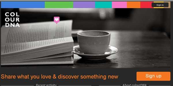 หรือ colourDNA คือ Pinterest เวอร์ชันสี?