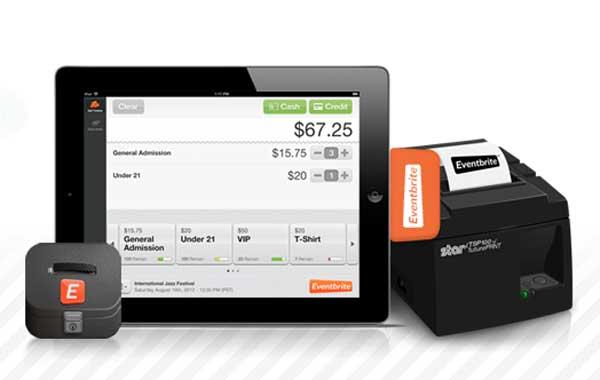 งานอีเวนต์-บัตรเครดิต-iPad เชื่อมกันด้วย Eventbrite