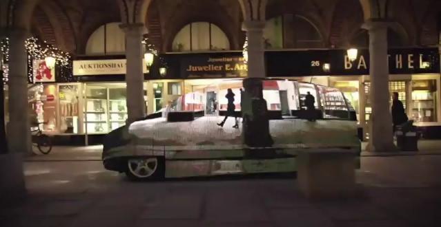 "Benz ทำได้ ""รถที่มองไม่เห็น"" (Video)"