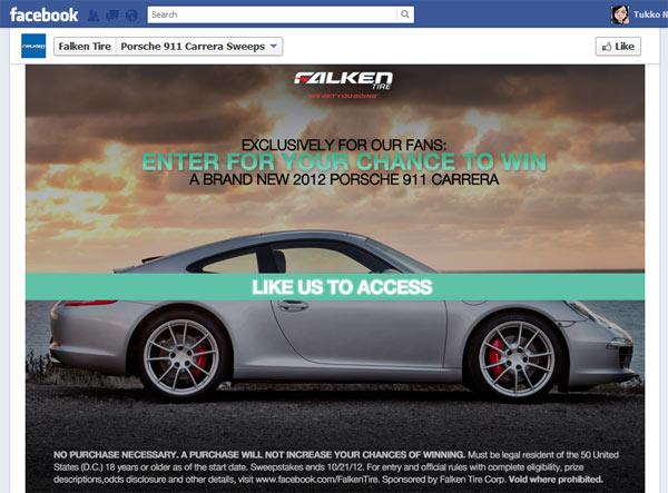 Porsche 911 ของรางวัลที่แพงที่สุดบน Facebook