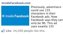 facebook จ่อปรับขนาดโฆษณา (ad unit) สิ้นเดือนมีนานี้