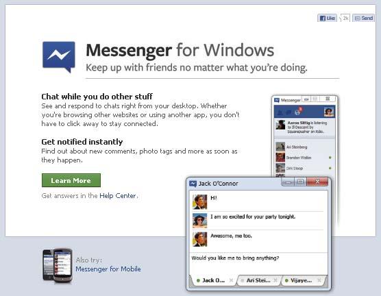 """facebook Messenger แค่คู่แข่ง """"msn"""" หรือเครื่องมือใหม่การตลาด ?"""