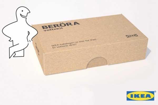 IKEA ผุดชุดด้ายเข็มทำถุงมือทัชสกรีน!