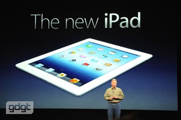 The New iPad มาพร้อม TVC ตัวใหม่