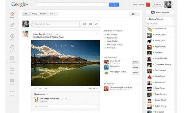 Google+ โฉมใหม่ไฉไลกว่าเดิม