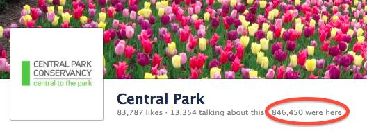 facebook ปรับวิธีนับ check-in ใหม่ในหน้า place