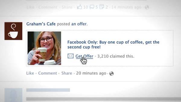 Facebook เตรียมให้โพสต์คูปองฟรี !