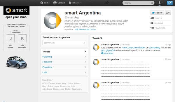 ทำได้ไงอะ.. Smart Argentina ขับเคลื่อนรถใน Twitter