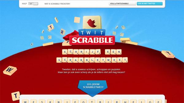 Twit Scrabble แคมเปญดีๆ กับไอเดียและการใช้สื่อที่ตรงประเด็น
