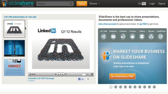 LinkedIn เข้าซื้อกิจการ Slideshare ในราคา 119 ล้านเหรียญฯ