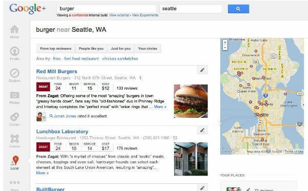 Google+ Local สถานที่ที่ชอบ…จากคนที่ใช่