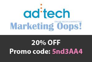 ad:tech พันธมิตรกับ Marketing Oops! มอบส่วนลด 20%