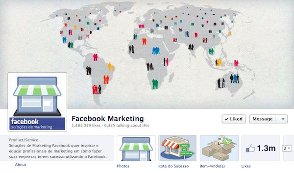 เฟซบุ๊คจ่อโชว์ยอด Like เดียวในแฟนเพจแบรนด์เดียวกันทุกประเทศ