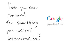 เมื่อ Google ใช้สื่อแมกกาซีนโฆษณา Google Search