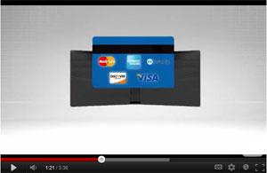 Visa และ MasterCard โหมไฟสังเวียนกระเป๋าเงินดิจิตอล