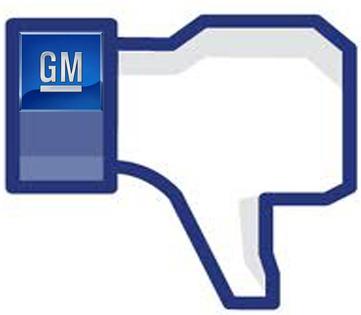 GM ถอนโฆษณา10ล้าน$ ออกจากเฟซบุ๊ค !