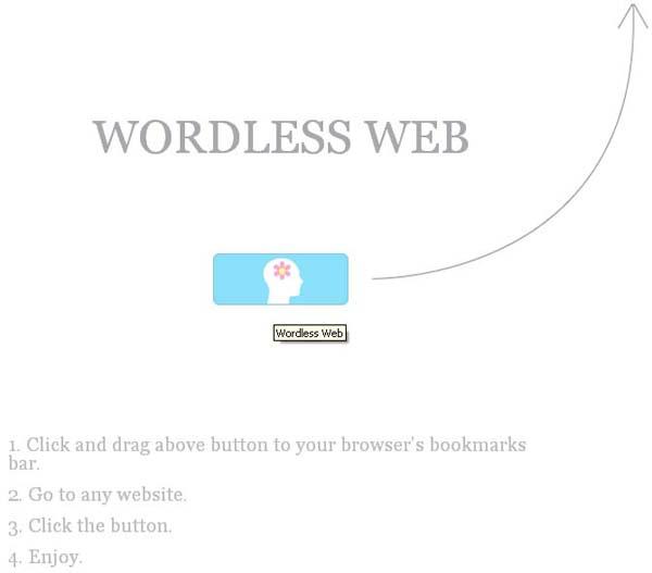 ลองท่องเว็บมุมใหม่ ไร้ตัวอักษร ด้วย Wordless Web