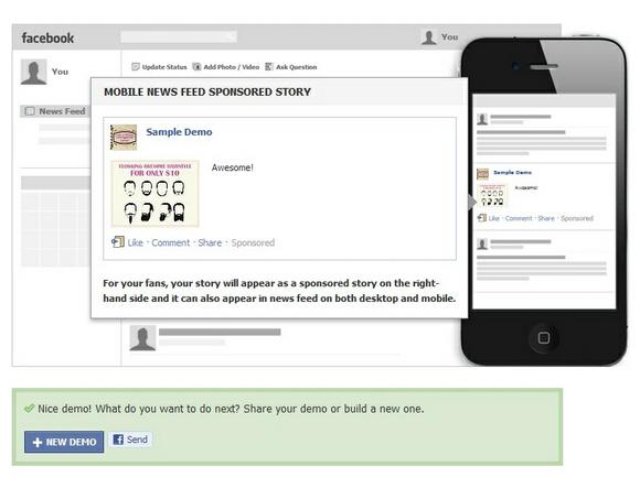 """เฟซบุ๊กเปิดตัวระบบขายโฆษณา """"Sponsored Stories"""" ครอบคลุมทุกอุปกรณ์"""