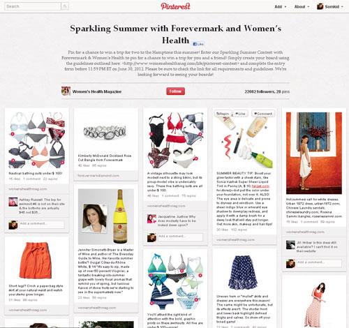 นิตยสารจับมือเสื้อผ้า ทำโฆษณาเองบน Pinterest