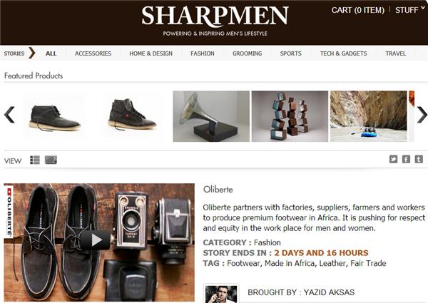 SharpmenTV ช่องช้อปปิ้งออนไลน์(เพื่อผู้ชายโดยเฉพาะ)