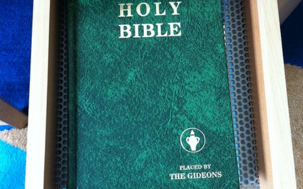 โรงแรมวาง Kindle แทนคัมภีร์ไบเบิล