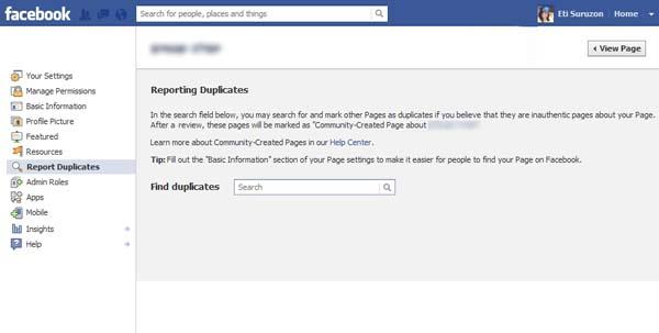 ฟ้องเพจใน facebook ซ้ำซ้อน – รู้จักก่อนได้ใช้เร็วๆนี้