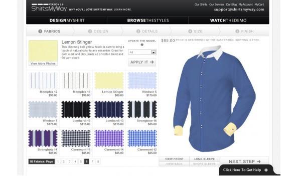ShirtsMyWay อนาคตของร้านตัดเสื้อเชิร์ต