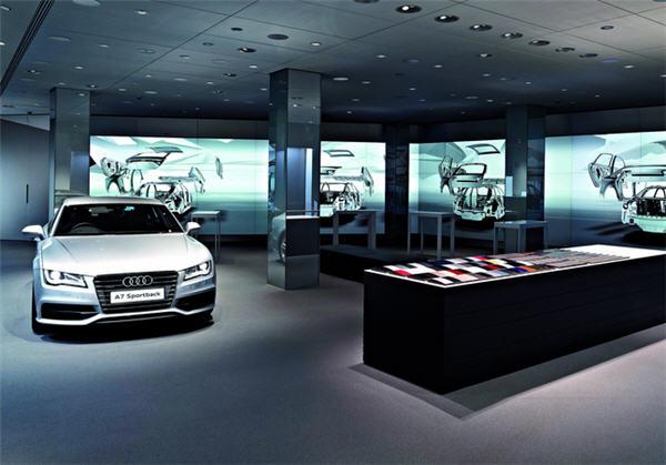Audi ปรับโชว์รูมรถใหม่ไฮเทคสุดๆ