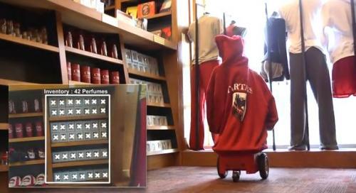 AndyVision หุ่นเฝ้าช็อป ได้ทั้งจัดร้านและช่วยขาย