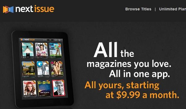คลอดแล้ว แอปอ่านนิตยสาร All-You-Can-Read บน iPad