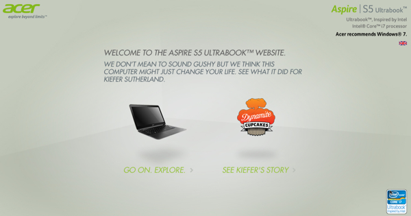 เอเซอร์กับโฆษณาฮาๆ ชี้ชัดว่าคอมแรงๆ เปลี่ยนชีวิตเราได้อย่างไร?