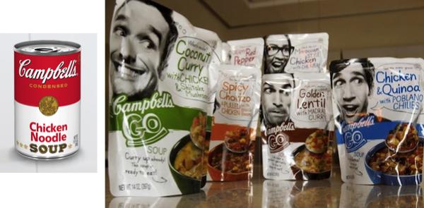 Campbell's Go มาดใหม่ของซุปปรุงสำเร็จ