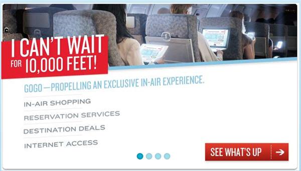 2 สายการบินอเมริกันเปิดเน็ตฟรีช้อปปิ้งออนไลน์บนเครื่องบิน