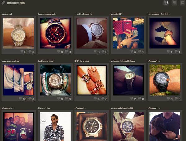 Michael Kors แจกนาฬิกาผ่านเกมบน Instagram