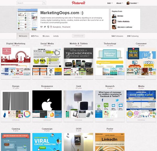 Pinterest เปิดรับสมาชิกโดยไม่ต้อง invite แล้ว
