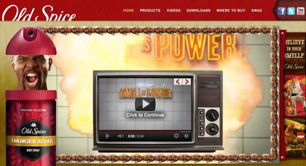 Old Spice ออกตัวแคมเปญใหม่แรงผ่านวิดีโออินเตอร์แอคทีฟ