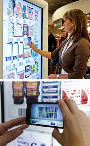 เทสโก้เปิดห้างเสมือจริงช้อปปิ้งในสนามบินผ่านมือถือ