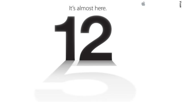 """It's almost here"" เทียบเชิญจาก Apple เปิดตัว iPhone 5"
