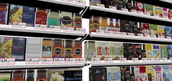 store trek ช้อปในซุปเปอร์มาร์เก็ตเสมือนจริงด้วย Kinect