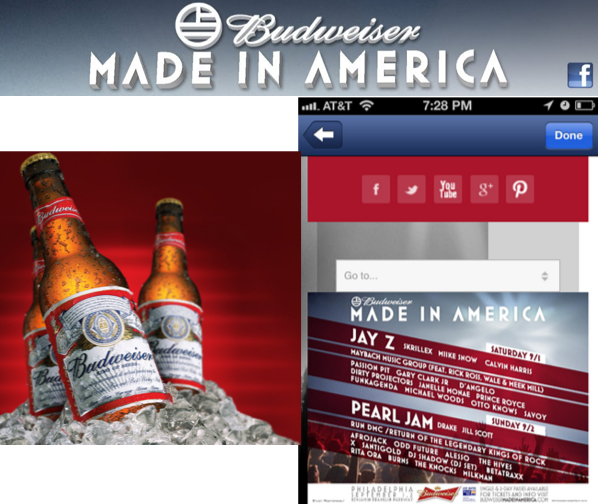 Budweiser นำเทศกาลดนตรีบุกสื่อดิจิตอล