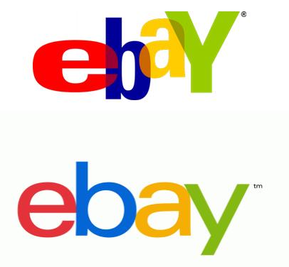eBay ตามเทรนด์โลโก้ยุคใหม่ ไปสู่ความเรียบง่าย