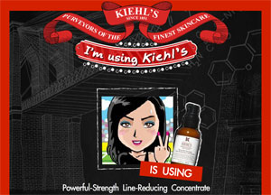 I'm Using Kiehl's แคมเปญบอกให้เพื่อนรู้ว่าชั้นใช้ผลิตภัณฑ์ Kiehl's