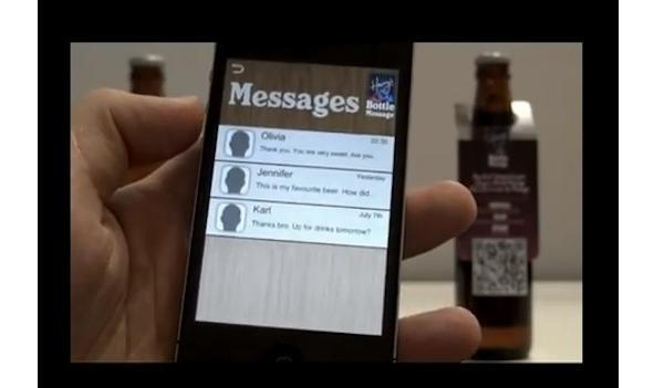"""บาร์สิงคโปร์ชวนหนุ่มสาวจีบกันด้วย""""QRCode""""บนขวดเบียร์"""